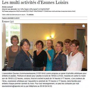 Les multi activités dEaunes Loisirs 04_10_2013 galerie