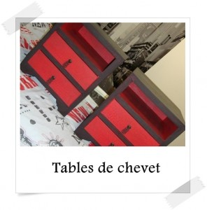 Tables de chevet