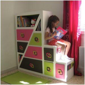 meuble en carton chambre
