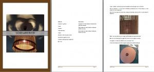 Extraits Luminaires en carton par LpB Carton