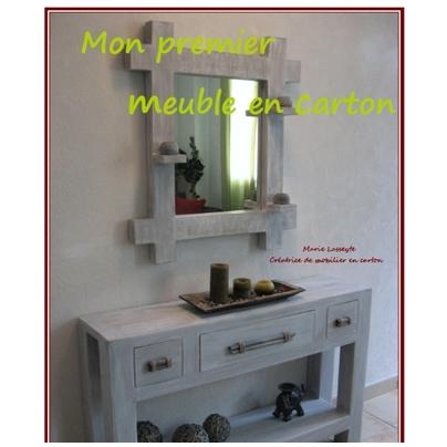 le livre mon premier meuble en carton lpb carton. Black Bedroom Furniture Sets. Home Design Ideas