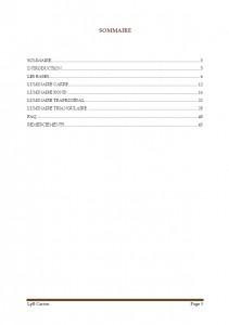 Sommaire Luminaires en carton par LpB Carton