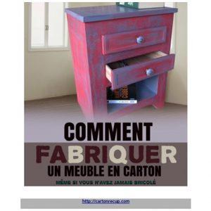 Le livre comment fabriquer un meuble en carton lpb carton - Fabriquer un chandelier en carton ...