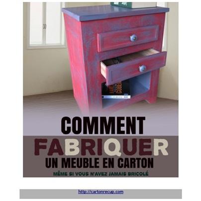 Le livre comment fabriquer un meuble en carton lpb carton - Comment rehausser un meuble ...