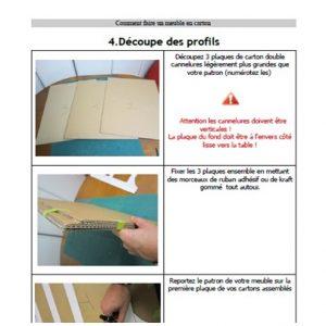 Comment fabriquer un meuble en carton 2