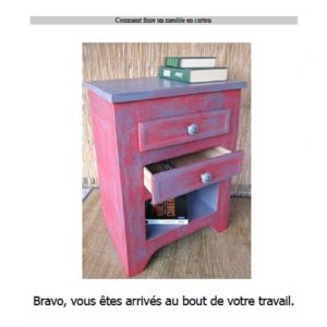 le livre comment fabriquer un meuble en carton lpb carton. Black Bedroom Furniture Sets. Home Design Ideas