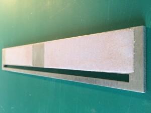 Règle de coupe papier abrasif