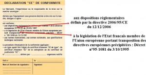 Déclaration CE de conformité_luminaires