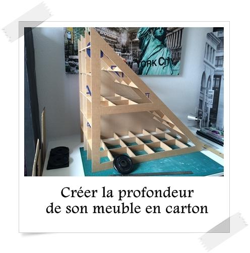 Cr er la profondeur de son meuble en carton lpb carton - Creer son meuble tv ...