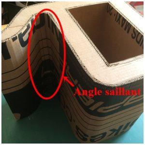 Angle saillant