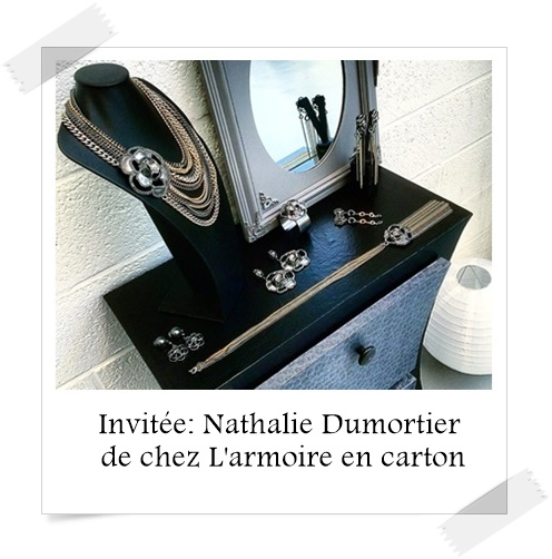 invit e nathalie dumortier de chez l 39 armoire en carton. Black Bedroom Furniture Sets. Home Design Ideas