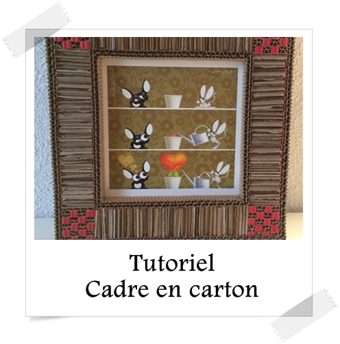 tutoriel cadre en carton lpb carton. Black Bedroom Furniture Sets. Home Design Ideas