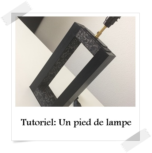 tutoriel un pied de lampe lpb carton. Black Bedroom Furniture Sets. Home Design Ideas