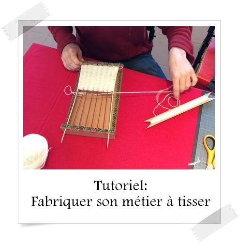 Tutoriel Fabriquer Son Metier A Tisser Lpb Carton
