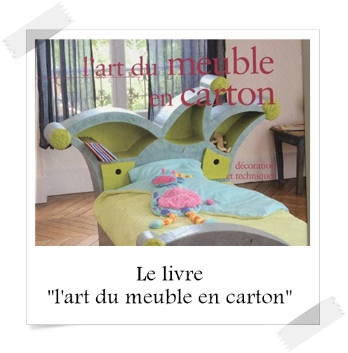 le livre l 39 art du meuble en carton lpb carton. Black Bedroom Furniture Sets. Home Design Ideas