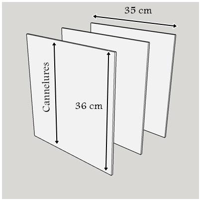 Meubles en carton n 4 recopier le gabarit et le d couper lpb carton - Gabarit meuble en carton gratuit ...